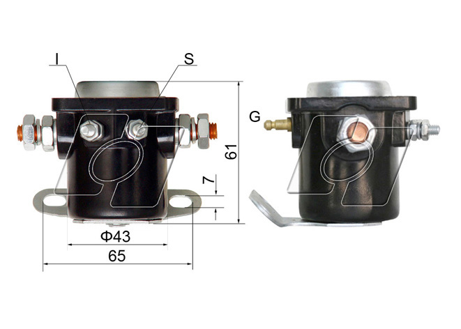 Ford Starter Solenoid AM-130
