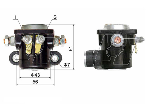 Ford Starter Solenoid AM-133