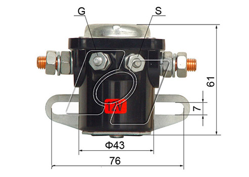 Ford Starter Solenoid AM-134