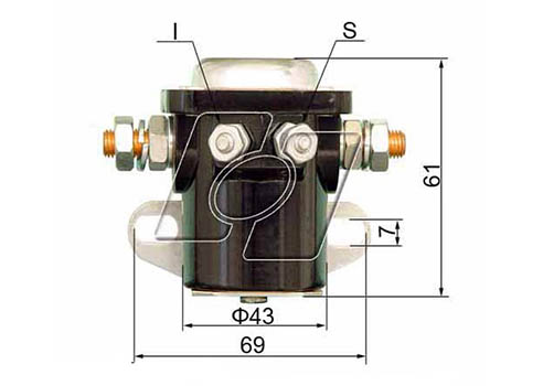 Ford Starter Solenoid FO-103-24