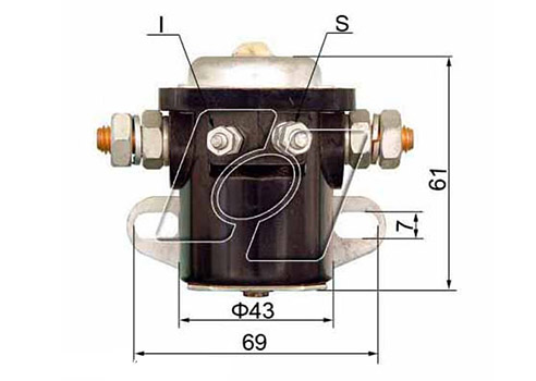 Ford Starter Solenoid FO-107