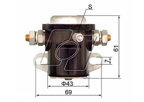 Ford Starter Solenoid FO-108