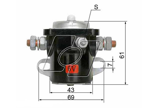 Ford Starter Solenoid FO-1004