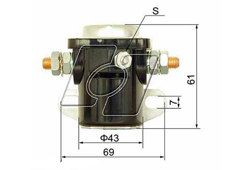 Ford Starter Solenoid FO-1016